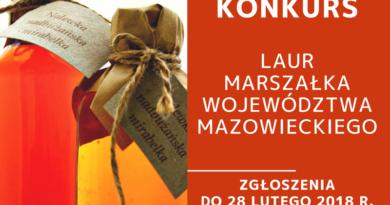 XI Laur Marszałka Województwa Mazowieckiego: Szukamy najlepszych mazowieckich smakołyków