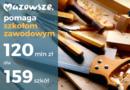 Mazowsze: 120 mln zł dla szkół zawodowych