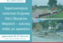 Konkurs dla mazowieckich sołectw: Sukcesy widać po sąsiedzku