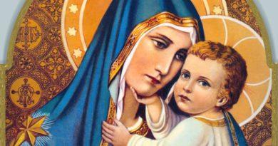OTO MATKA TWOJA: Objawienia Matki Bożej Szkaplerznej