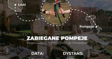 Biegowa pielgrzymka do Pompejów!