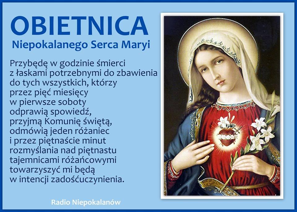 Znalezione obrazy dla zapytania Maryja pierwsze soboty